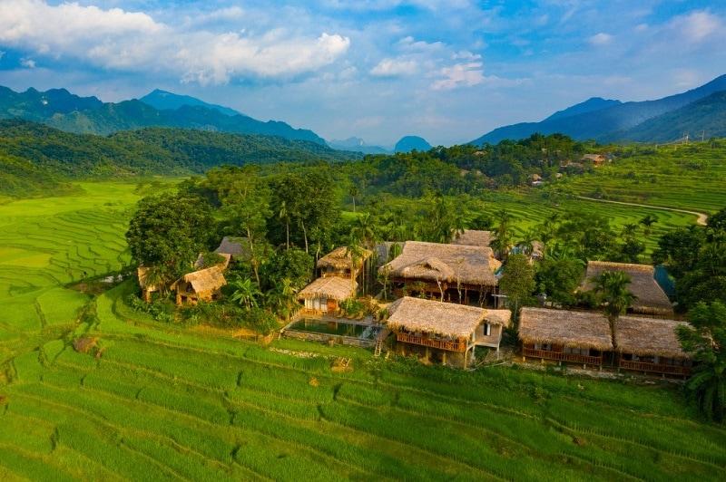 Hoanh Homestay Pù Luông - homestay nổi tiếng ở Pù Luông