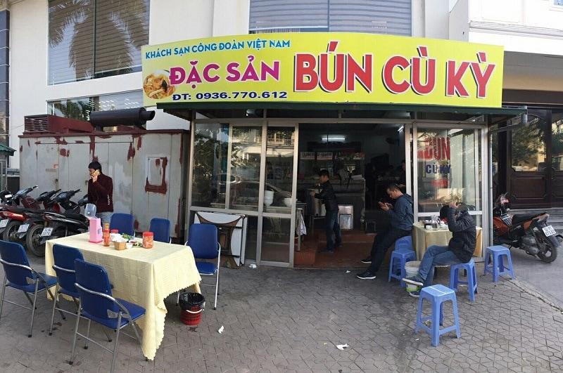 Những quán ăn sáng ở Hạ Long