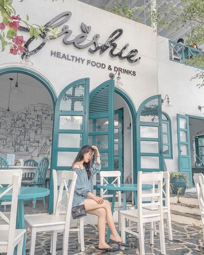Freshie – Healthy Food & Drinks - quán cà phê ở Hạ Long có không gian đẹp