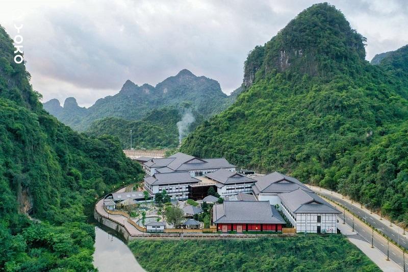 Review Yoko Onsen Quang Hanh, không gian xanh mát ở Yoko Onsen Quang Hanh