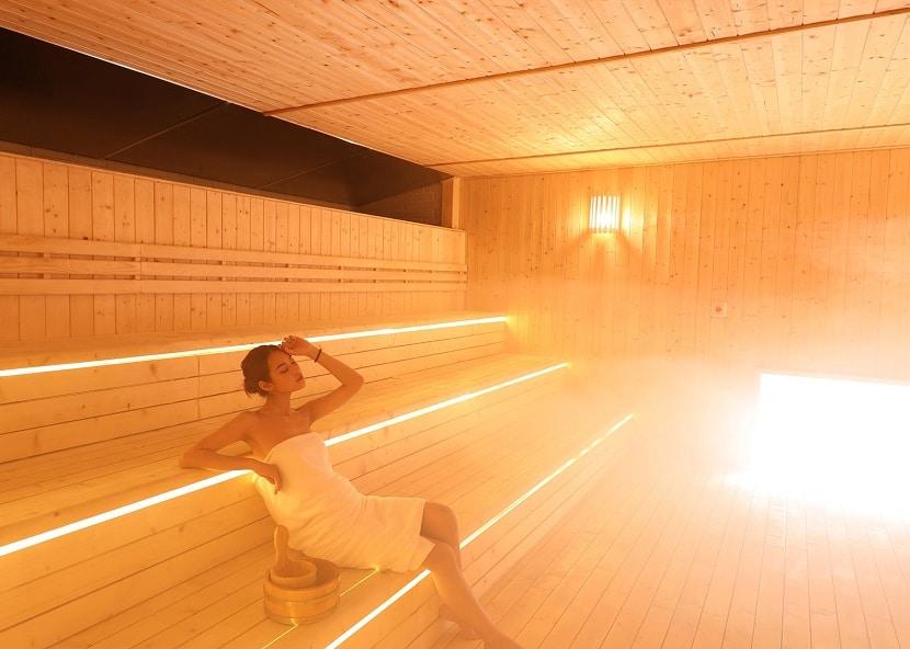 Hướng dẫn tắm Yoko Onsen Quang Hanh, phòng xông hơi nóng