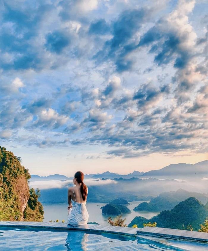 Review Ba Khan Resort Hòa Bình, cảnh đẹp ở Ba Khan