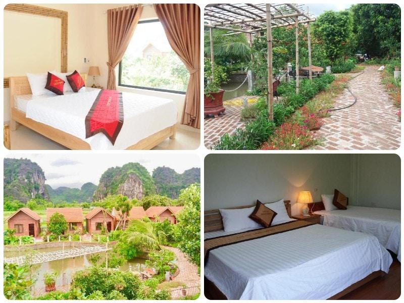 Homestay đẹp Ninh Bình, Tam Cốc Green Garden Homestay
