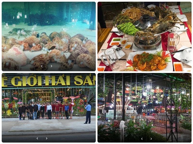 Du lịch Phú Quốc nên ăn hải sản ở đâu? Nhà hàng thế giới hải sản