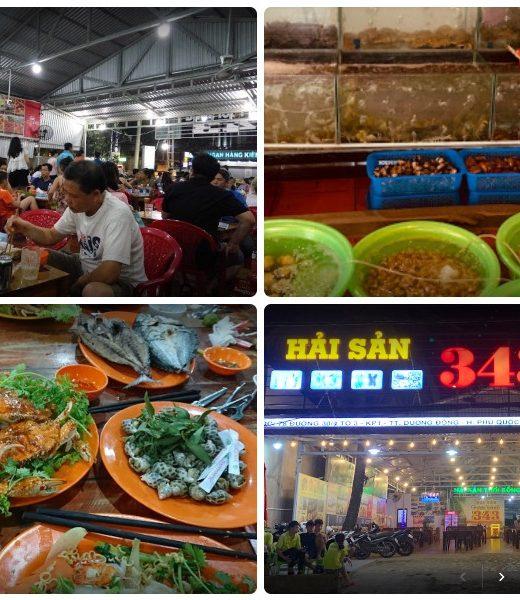 Nhà hàng hải sản ở Phú Quốc, nhà hàng Hải Sản 343