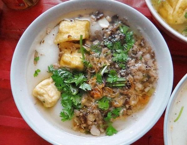 Quán ăn ngon Hà Nội, quán bánh đúc ngon ở Hà Nội