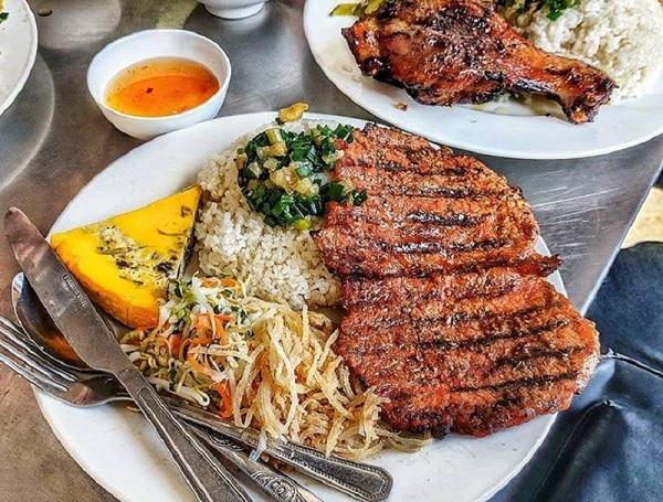 Quán ăn ngon Hà Nội, quán cơm tấm ngon Hà Nội, cơm tấm Ali