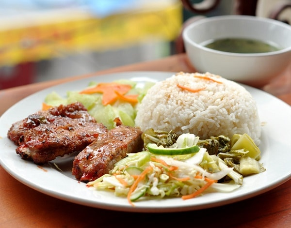 Các quán ăn ngon ở Hà Nội, cơm sườn Đào Duy Từ