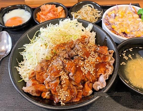 Quán ăn ngon Hà Nội, quán cơm ngon ở Hà Nội, Cơm thịt nướng Umai29