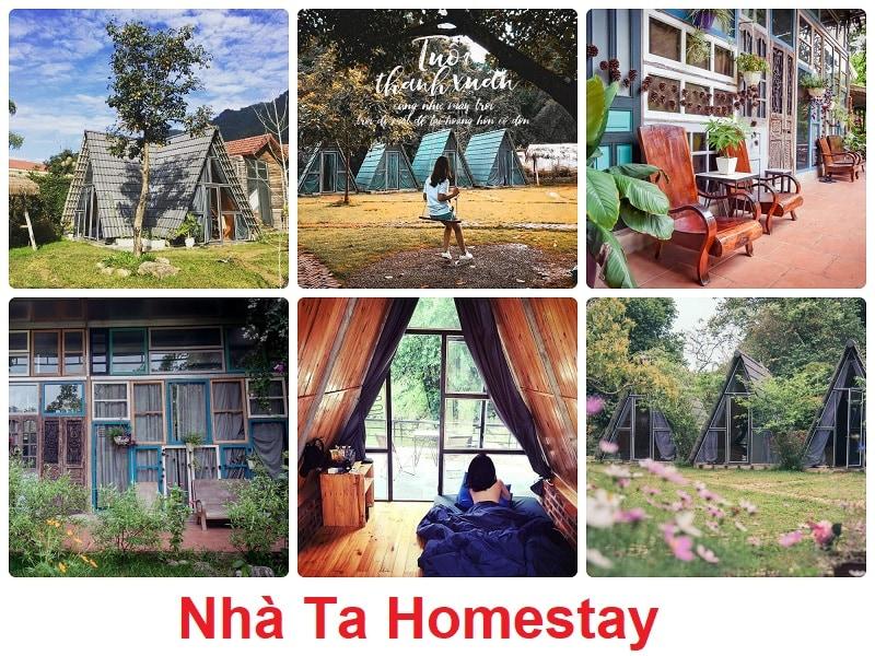 Homestay nổi tiếng Mộc Châu, Nhà Ta Homestay