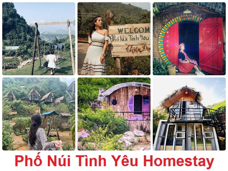 Du lịch Mộc Châu nên ở homestay nào đẹp? Phố Núi Tình Yêu