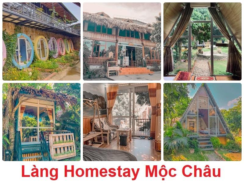 Làng Homestay, Homestay ở Mộc Châu được yêu thích nhất