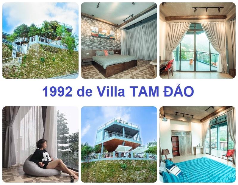 Resort ở Tam Đảo giá rẻ, 1992 de Villa TAM ĐẢO