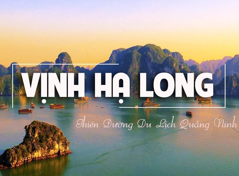 Du lịch Hạ Long 1 ngày, vịnh Hạ Long là điểm đến rất yêu thích