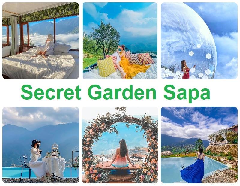 Homestay Sapa check in đẹp, Secret Garden Sapa
