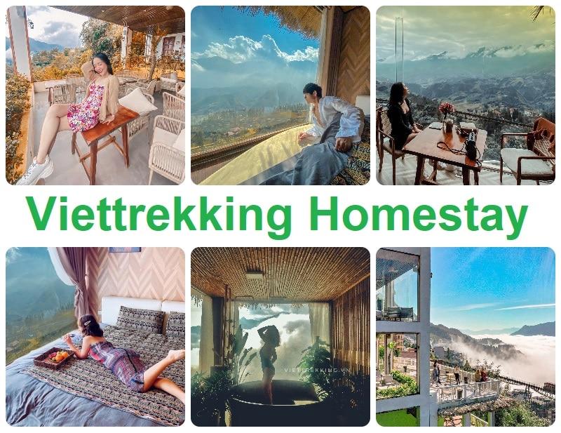 Homestay ở Sapa nổi tiếng, view đẹp. Vietrekking Homestay