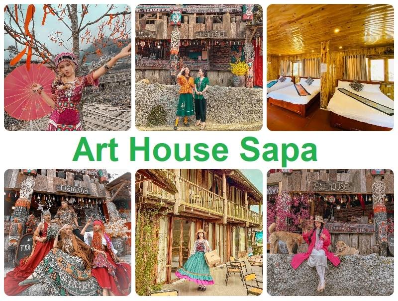 Homestay ở Sapa chụp ảnh đẹp, Art House Sapa