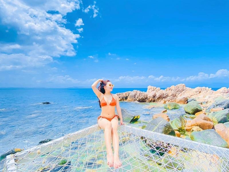 Kinh nghiệm du lịch Cù Lao Xanh, du lịch Cù Lao Xanh tháng mấy đẹp nhất?