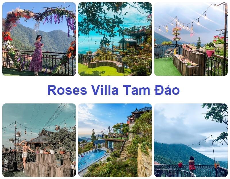 Resort ở Tam Đảo, Roses Villa Tam Đảo