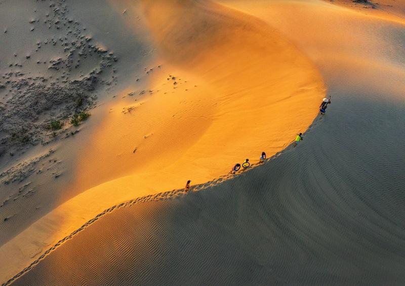 Kinh nghiệm du lịch Phan Thiết, đồi cát Mũi Né