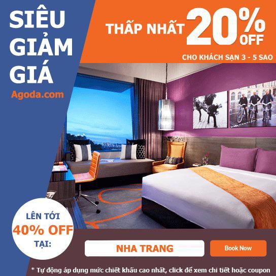 Khuyến mại khách sạn giá rẻ tốt nhất ở Nha Trang